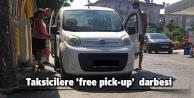 Taksicilere #39;free pick-up  darbesi